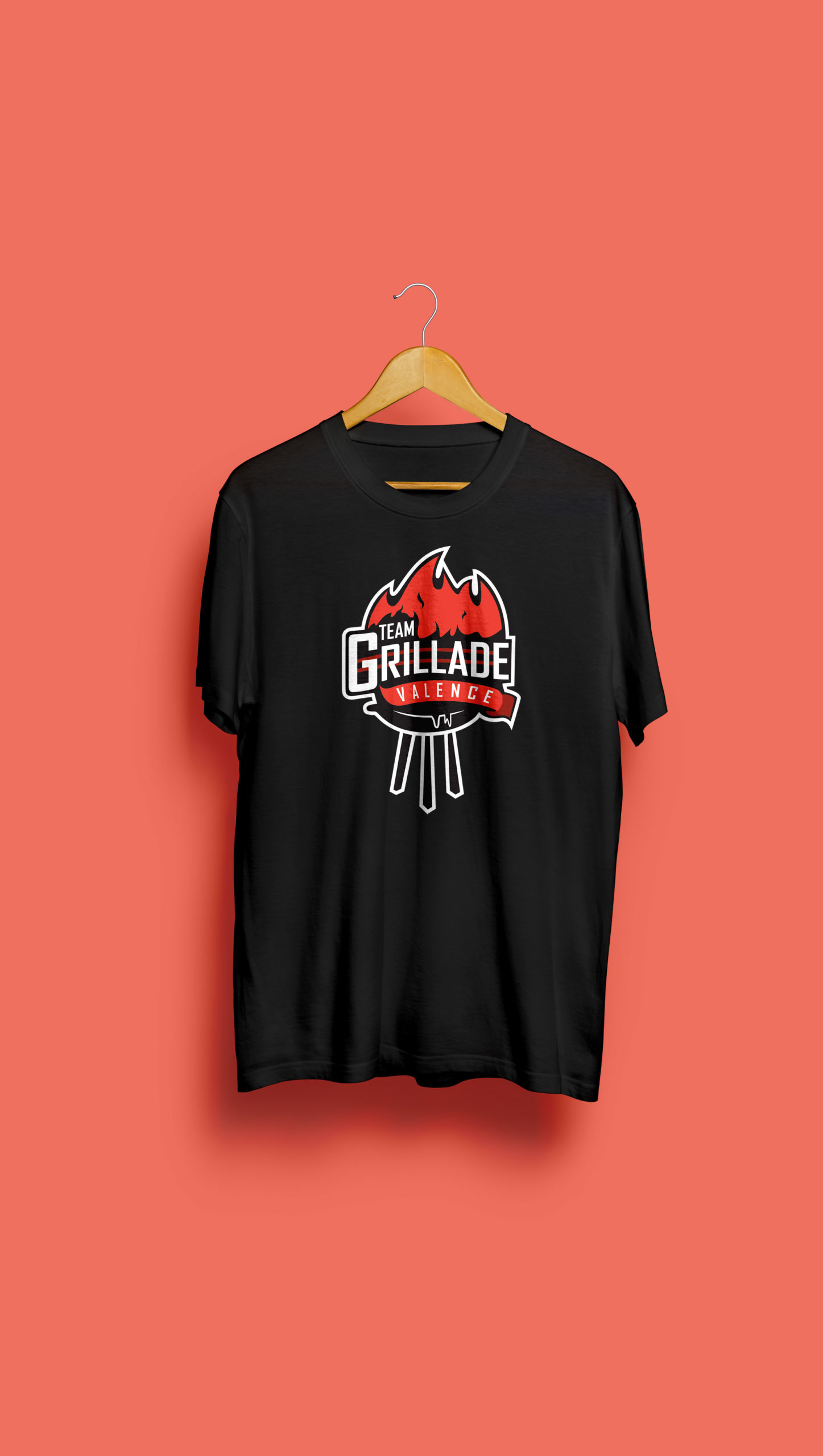 T shirt Team Grillade Valence
